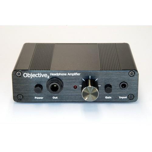 Objective2 O2 Headphone Amplifier Desktop Version