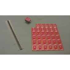 SMD to DIP8 adapter